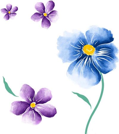 色彩花卉临摹图片大全