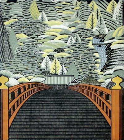 雷森村 (Pay Morimura)木刻版画作品欣赏