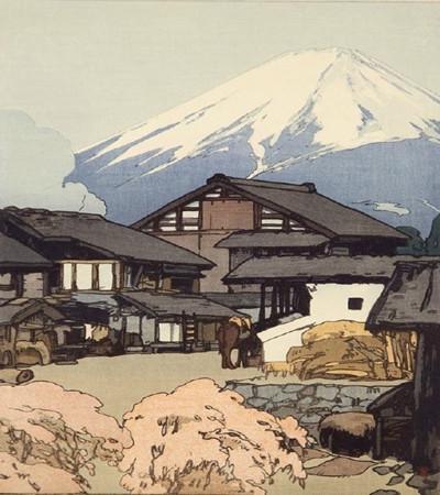 日本画家吉田博Hiroshi Yoshida建筑版画欣赏