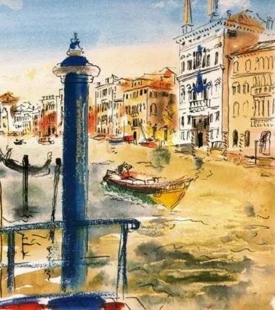 毕加索水彩画作品欣赏