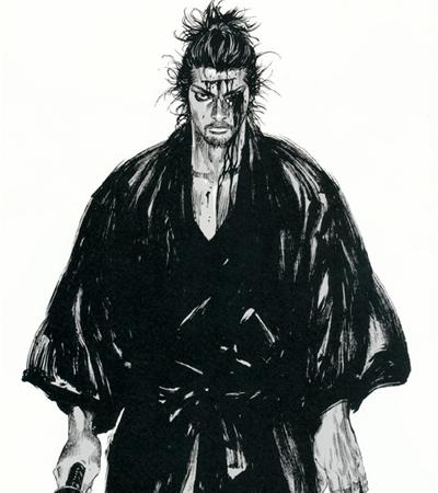 一组井上雄彦漫画作品欣赏