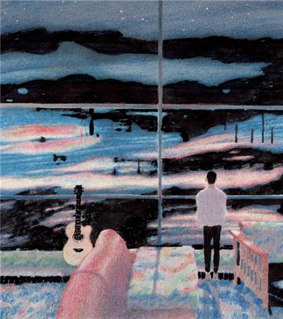 韩国大师彩铅画作品欣赏