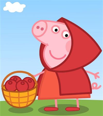 小豬佩奇簡筆畫圖片大全