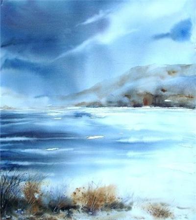 一组水彩画风景作品欣赏