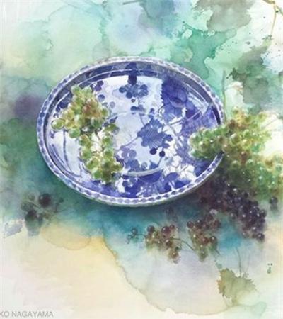 永山裕子的水彩画作品欣赏