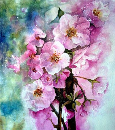 英国画家Yvonne Harry水彩画作品欣赏