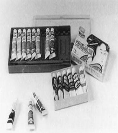 版画教程:水印版画工具及材料