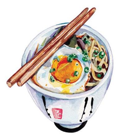 水彩画食物图片素材大全