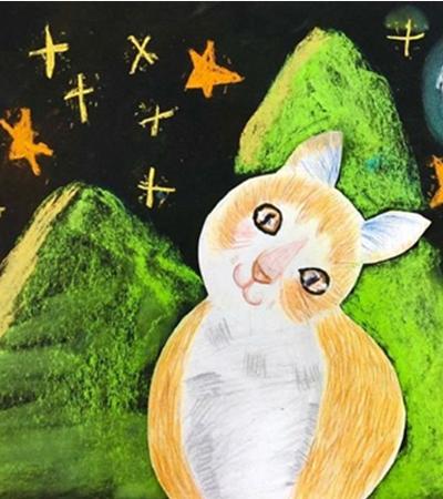 彩铅画-一组歪头杀小猫让你瞬间入迷
