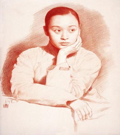 真正的中国好素描作品欣赏