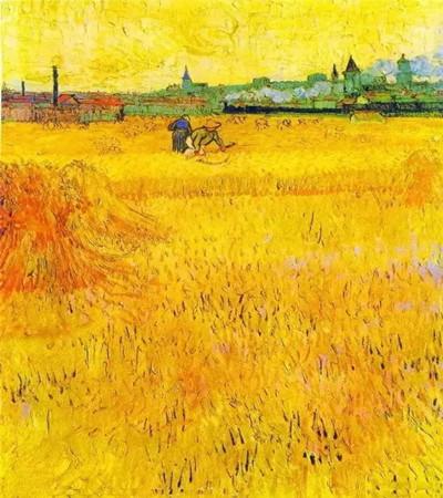 梵高风景油画欣赏:这个美到让人落泪的秋天