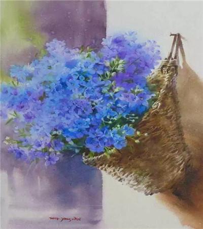 这样明媚多彩的水彩画作品,你确定不喜欢?