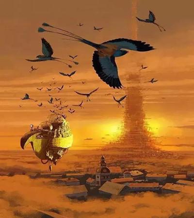 Alex Andreyev插画作品欣赏:每一张都是一段奇幻之旅!