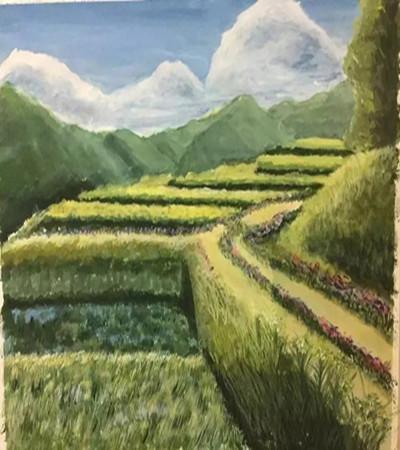 綠色的風景畫怎么畫?要注意些什么?