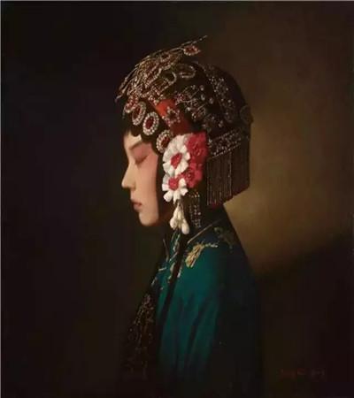 中国风景油画作品欣赏