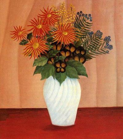 油画作品欣赏:卢梭油画作品