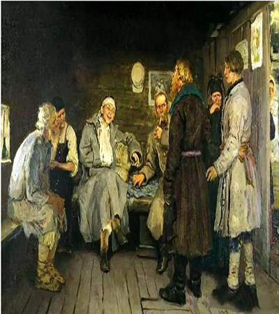 列宾经典油画作品欣赏,优秀油画图片集