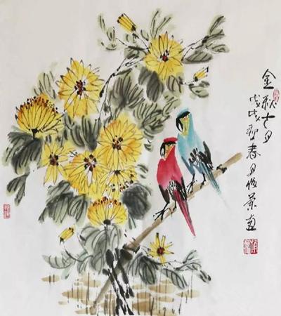 著名畫家趙蘭俊的國畫作品鑒賞,國畫圖片大集