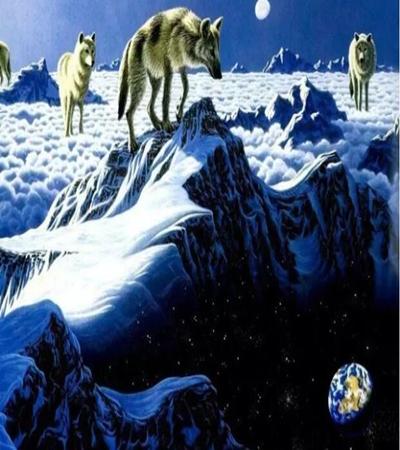 动物丙烯画作品有哪些?丙烯画图片大集