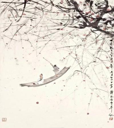 一組傅抱石國畫作品欣賞,教你如何畫出意境之美?