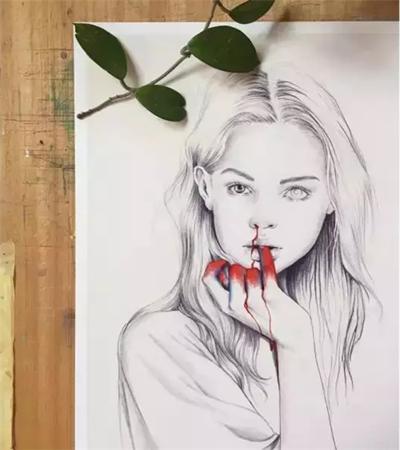 一组素描作品欣赏,教你如何画出素描的灵动?