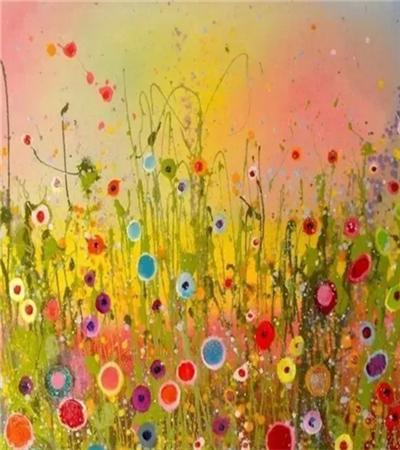 一组风景水粉画作品欣赏,教你怎么铺色?