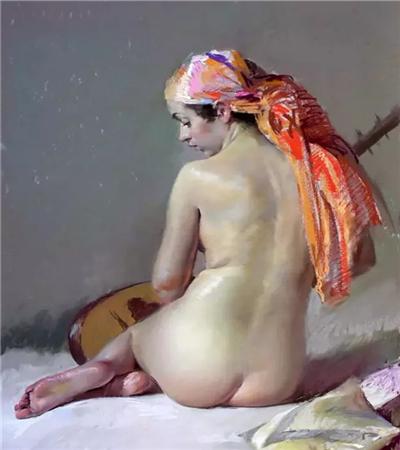一组色粉画作品欣赏,教你如何用色粉画出油画的效果?