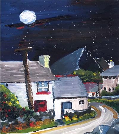 夜空下的街道怎么畫?具體有哪些繪畫步驟?
