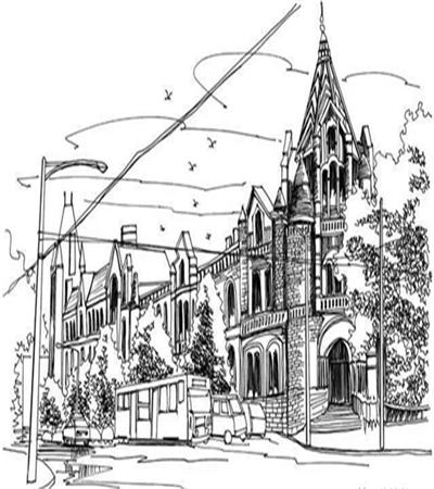 悉尼街景怎么畫?詳細的繪畫教程圖是什么?
