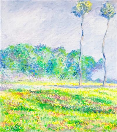 春天的白楊樹怎么畫?風景兒童油畫畫法是什么?