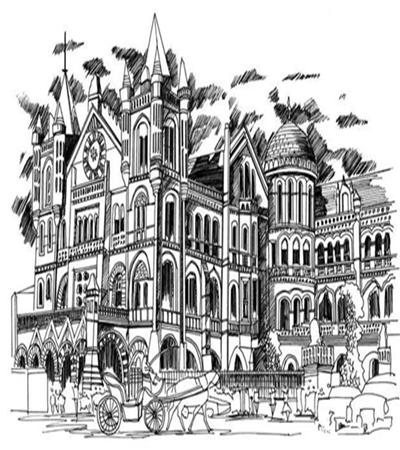 普羅旺斯的建筑怎么畫?特色建筑的速寫畫法是什么?