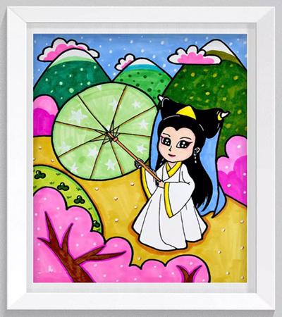 白娘娘怎么畫?白素貞的簡單畫法步驟有哪些?