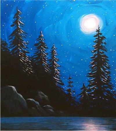 风景水粉画作品欣赏,水粉与其他画有什么区别?