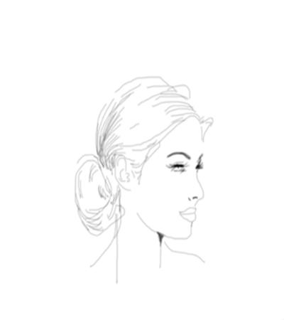 丸子頭美女側臉怎么畫?詳細的畫法是什么?