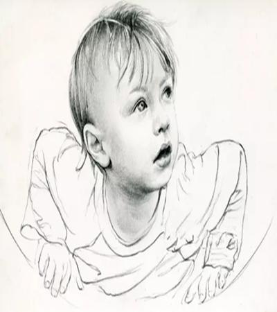 小男孩頭像怎么畫?詳細的素描步驟有幾步?