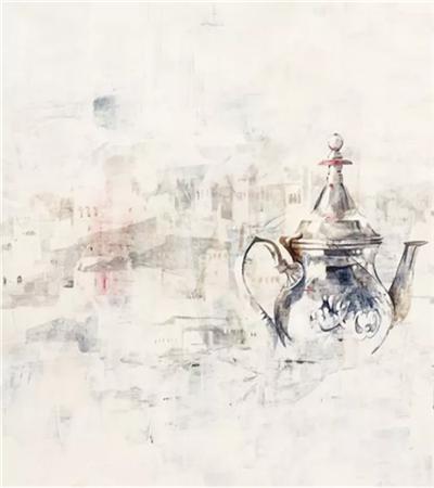 Nono García水彩作品欣赏,如何画出晕染的效果?