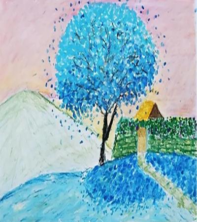 简单的风景怎么画?儿童风景绘画教程分享