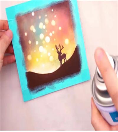小麋鹿怎么画?有哪些色粉绘画步骤?