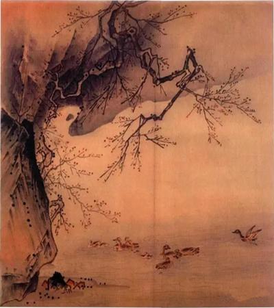 野鸭凫水怎么画?野凫戏水国画步骤有几步?