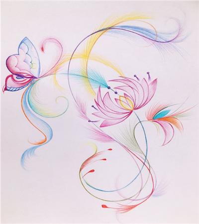 凤尾花怎么画?金星草的绘画步骤有哪些?