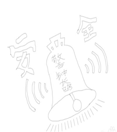 安全警钟怎么画?钟的外形简笔画步骤有几步?
