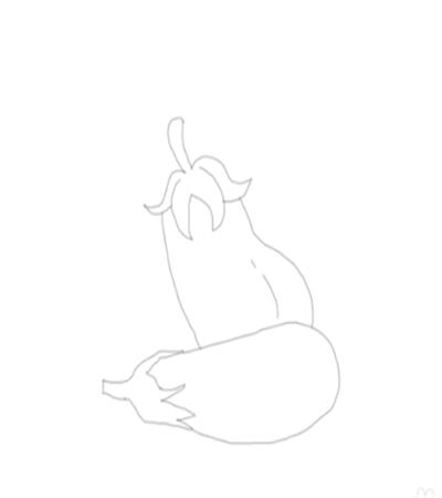 简笔画茄子怎么画?有哪些简单的绘画步骤?