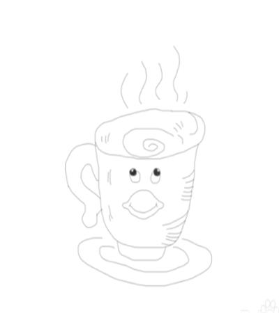 一杯奶茶怎么画?简笔画法是什么?