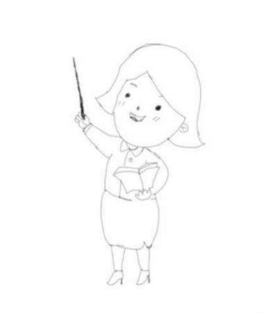 教师节画什么?教师简笔画怎么画?