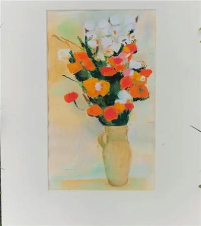 鲜花怎么画?插花油画教程是什么?
