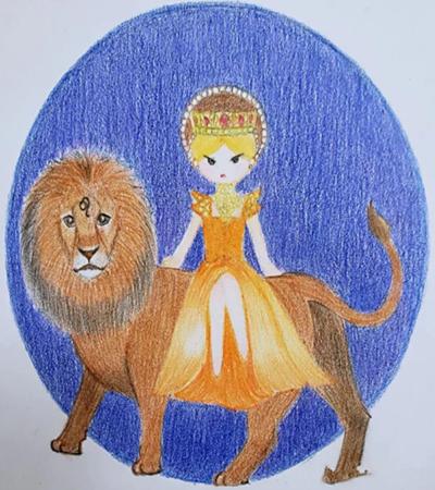 狮子座的插画怎么画?具体的绘画步骤有几步?