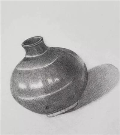 素描陶罐怎么画?一步一步教你画陶罐