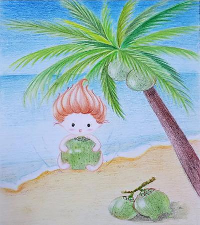 椰子宝宝怎么画?具体有哪些绘画步骤?