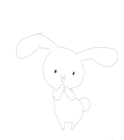 可爱的小兔子怎么画?中秋节玉兔的简笔画法是什么?