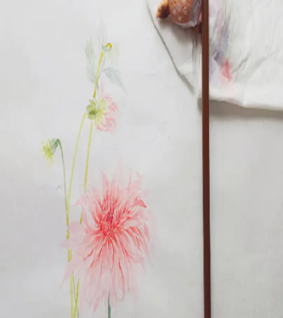 飘逸的大丽菊怎么画?没骨法的特点是什么?